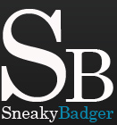 sneaky badger
